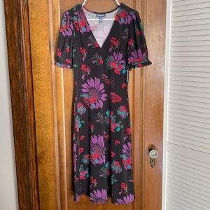 Whimsy Under Wraps ModCloth NWT Floral Dress